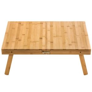 艾倫竹製折疊戶外桌 深40x寬60x高23.5cm