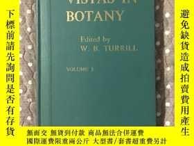 二手書博民逛書店Vistas罕見in Botany 3 植物學回顧第三卷Y177