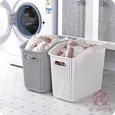 塑料手提臟衣籃浴室洗衣籃臟衣服收納筐玩具收納簍【櫻田川島】