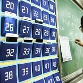 班級手機收納袋掛袋壁掛收納袋子存放布袋手機袋掛牆教室用掛式   koko時裝店