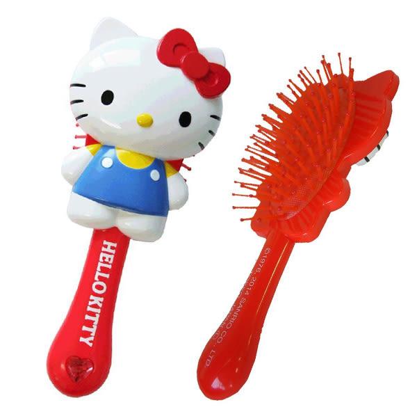 【Sanrio】HelloKitty造型梳(紅)