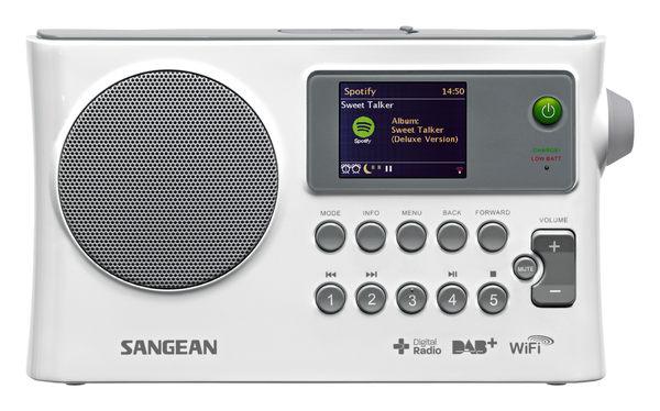 ^聖家^SANGEAN 山進WiFi網路收音機/數位廣播/調頻/USB網路收音機 WFR-28C【全館刷卡分期+免運費】