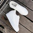 小白鞋子女內增高2018新款夏季7cm厚...