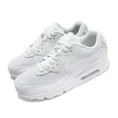 Nike 復古慢跑鞋 Wmns Air Max 90 綠 湖水綠 白 氣墊 運動鞋 基本款 女鞋 男鞋【PUMP306】 325213-419