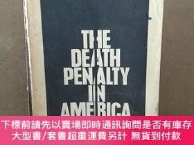二手書博民逛書店THE罕見DEATH PENALTY IN AMERICAY269331 HUGO ADAM BEDAU AN