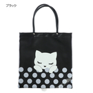 【Pooh Chan-噗將閉眼貓】立體小尾巴大SIZE提袋包【買就送純銀項鍊市價850】