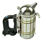 養蜂工具蜂具出口型牛皮不銹鋼電動噴煙器養蜂專用蜜蜂驅蜂熏蜂 小明同學igo