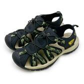 LIKA夢 LOTTO 專業護趾運動涼鞋 冒險者系列 迷彩綠 6115 男