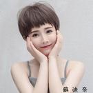 假髮女短髮狗式啃劉海氣質修臉蓬鬆鎖骨髮網...