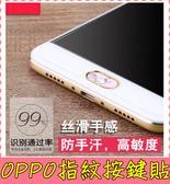 【萌萌噠】歐珀 OPPO R9/R9S/R9Plus/F1S(A59) 卡通指紋識別貼 HOME鍵貼紙 按鍵貼 彩色貼紙