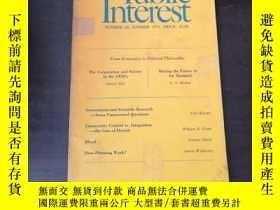 二手書博民逛書店The罕見Public Interest(summer 1971
