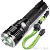 手電筒 神火LED強光手電筒遠射王戶外可充電式救生錘防水X1 潔思米