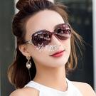 太陽鏡女時尚防紫外線新款韓墨鏡圓臉騎旅行開車防嗮遮陽眼鏡