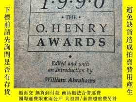 二手書博民逛書店PRIZE罕見STORIES 1990 THE O.HENRY