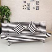 新年鉅惠 歐式沙發床可折疊客廳單人沙發小戶型簡易多功能布藝沙發床懶人沙發床xw
