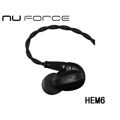 NuForce HEM6 可換線監聽級入耳式耳機
