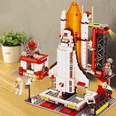火箭兒童積木玩具大男孩子生日禮物8男童9益智力10拼裝六6歲以上7 初色家居館