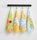 兒童手帕 三利擦手巾掛式純棉加厚吸水可愛韓國兒童毛巾搽手帕卡通方巾【快速出貨八折下殺】