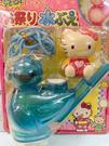 【震撼精品百貨】Hello Kitty 凱蒂貓~三麗鷗 KITTY小鳥吹泡泡玩具-藍*11795