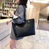 托特包-包包女包新款2020時尚百搭托特包女學生雙面潮流單肩包洋氣手提包