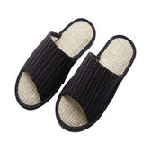 HOLA 和風室內蓆拖鞋 圖騰藍XL