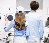 情侶裝 襯衫男女式修身長袖襯衣藍色純色舒適打底衫潮 森雅誠品