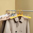 成人衣架 服裝店防滑無痕大衣架子 耐曬家用塑料衣架批發