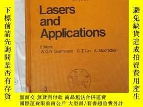 二手書博民逛書店lasers罕見and applications(H2407)Y