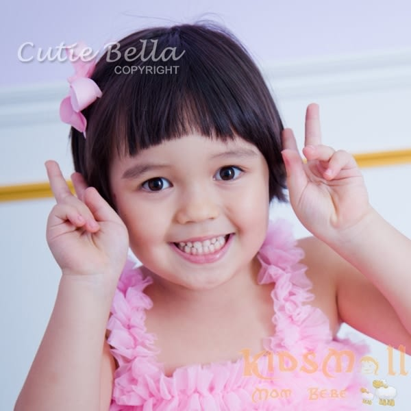 Cutie Bella燕尾蝴蝶結髮夾-Sky