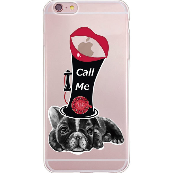 設計師版權【狗臉的歲月 -CALL ME】系列:TPU手機保護殼(Samsung、OPPO)