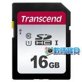 【免運費】 創見 Transcend 16GB SDHC Class 10 UHS-I 300S 記憶卡 (95MB/s,TS16GSDC300S,5年保固) 16g