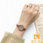 手表女學生簡約精致氣質小眾設計復古港風輕奢【慢客生活】