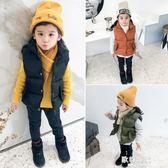 男童女童寶寶羽絨棉馬甲兒童立領背心加厚保暖外穿潮童 歐韓時代