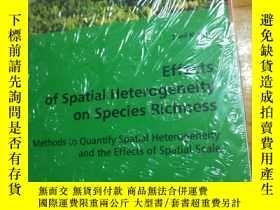 二手書博民逛書店Effects罕見of spatial Heterogeneity on Species RichnessY1