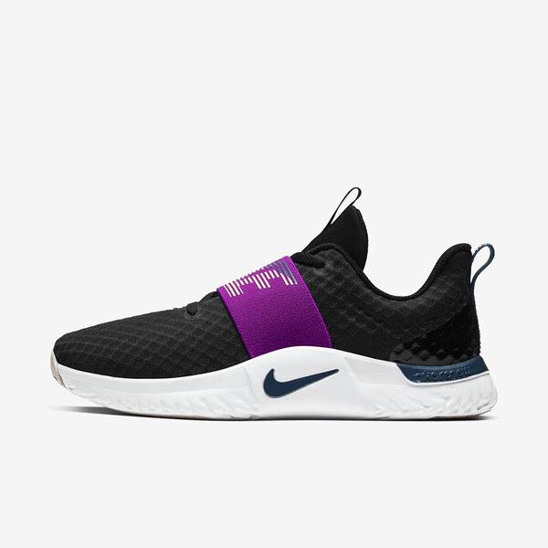Nike W Renew In-season Tr 9 [AT1247-012] 女鞋 多功能 訓練 健身 彈力 黑 紫