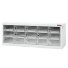 【奇奇文具】樹德MCP-515(透明面板)15格消費性電子產品置物櫃