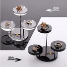 首飾道具戒指架小三圓形擺件鑽石珠寶有機玻璃亞克力展示架飾品架