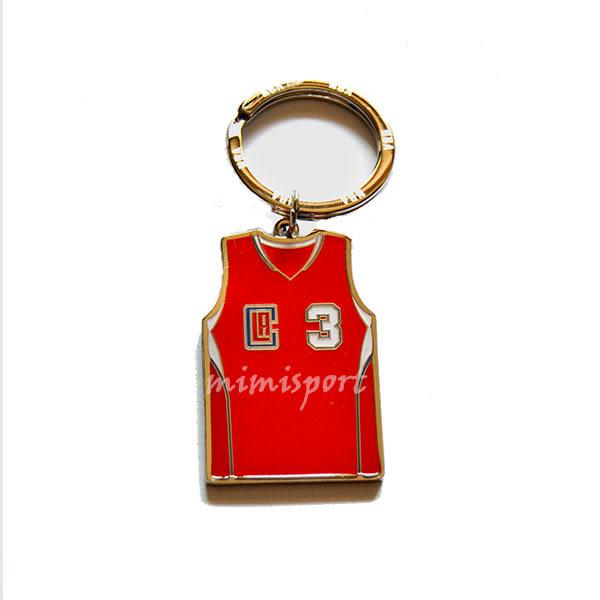 2015 新款 NBA 官方授權 精品 鑰匙圈 洛杉磯快艇 Clippers 小保羅 Paul Cp3 球衣造型