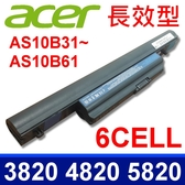 宏碁 Acer AS10B61 原廠規格 電池 Aspire 3820T, 4820T, 5820T, 4745g, 5745g, 7745g