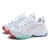 SKECHERS 休閒鞋 DLITES 3.0 白綠橘 糖果配色 老爹鞋 記憶鞋墊 運動 女 (布魯克林) 149121WMLT