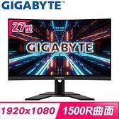 【南紡購物中心】Gigabyte 技嘉 G27FC 27型 165Hz 1ms 1500R 曲面電競螢幕