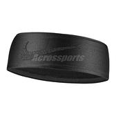 Nike 頭帶 Dri-Fit Swoosh HeadBand 黑 男女款 籃球 跑步 頭巾 髮帶【ACS】 N100342700-1OS