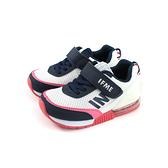 IFME 休閒運動鞋 藍/白 魔鬼氈 中童 童鞋 IF30-011501 no126 15~21cm