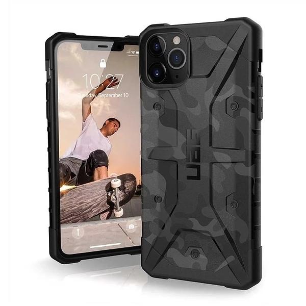 美國軍規 iPhone 11 Pro Max 耐衝擊迷彩保護殼 (3色) 強強滾