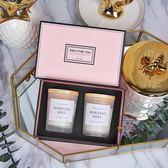 敖世香薰蠟燭禮盒臥室精油香氛蠟燭歐式浪漫香薰生日家用伴手禮