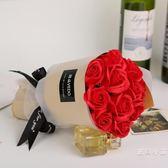 情人節11朵手捧玫瑰花香皂花束送男女朋友閨蜜生日禮物畢業小禮品年貨慶典 限時鉅惠