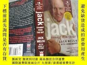 二手書博民逛書店Jack:Straight罕見from the Gut 直接從內臟 (英文原版)Y256073 Jack、Jo