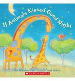 《主題:動物.溫馨情誼》IF ANIMALS KISSED GOOD NIGHT /英文繪本