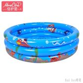 嬰兒游泳池充氣兒童寶寶游泳池戲水池海底動物游戲組合 QQ28488『bad boy』