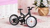 創意自行車鬧鐘時鐘 搞怪擺設【花赤Run】